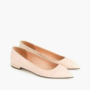 J. Crew Style K3085 Pointed Toe Flats Patent